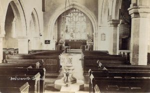 Church modern pews