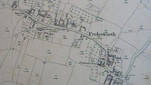 Map of Frolesworth