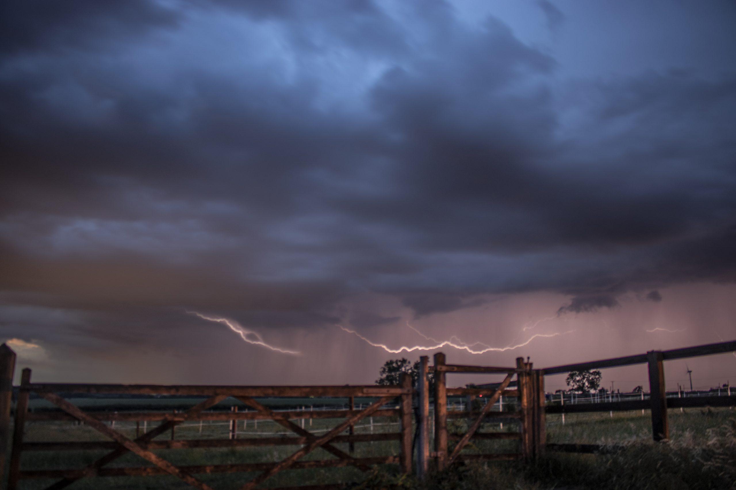 Lightning over Lake