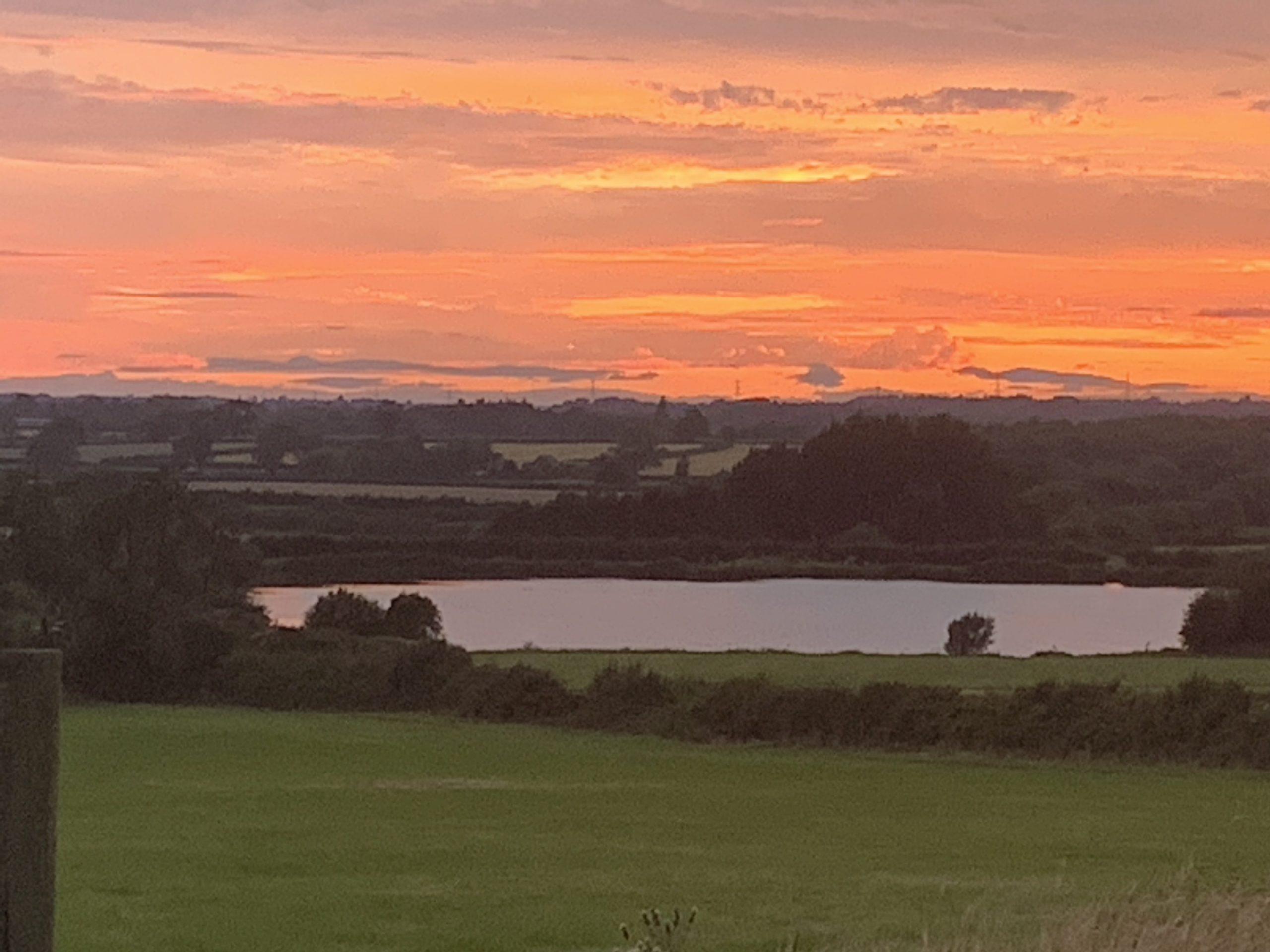 Frolesworth Lake Sunset