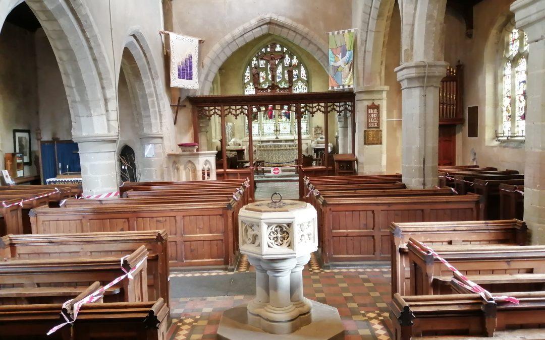 St Nicholas Church Welcomes you Back